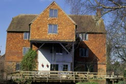 Shalford Mill - one of the buildings that the Ferguson Gang saved and where Penelope Adamson and Joanna Bagnall lived