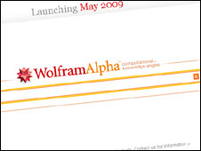 Image of Wolfram Alpha website