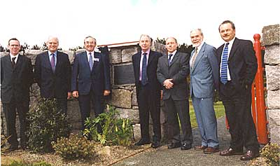 The Senior management team of the Water Service (May 2003)