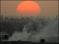 Sun over Baghdad