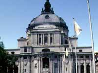 Methodist Central Hall a domed building in London