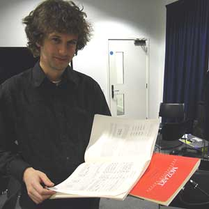 Photo of conductor Nicholas Collon
