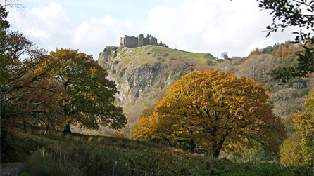 carreg cennen by steven morgan