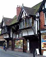Image of medieval houses on Spon Street, Coventry