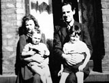 The MacLaverty family at home in Belfast