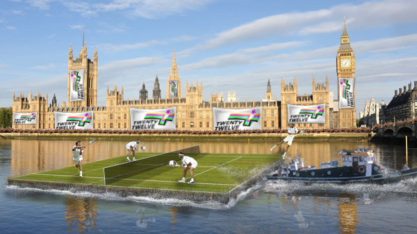 Tennis on the River Thames