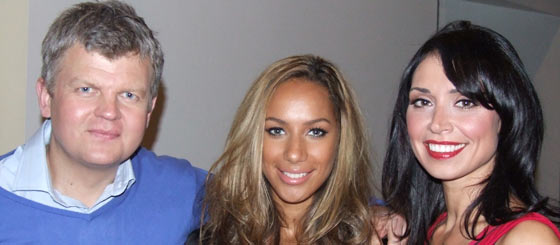 Adrian and Christine with Leona Lewis