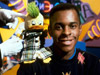 Andi Peters and Edd the Duck