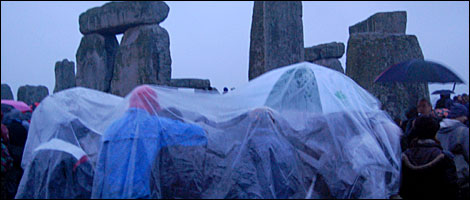 Summer Solstice at Stonehenge 2008