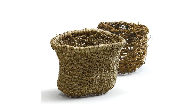 How To Weave A Basket Out Of Reeds : Bbc a history of the world object woven reed