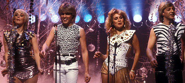 Bucks Fizz on Top of the Pops in 1981