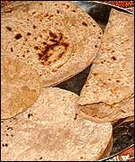 Picture: Chapatis.