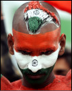 Indian cricket fan. AP