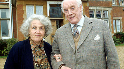 Stephanie Cole as Diana and Graham Crowden as Tom