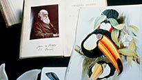 Darwin letters and drawings