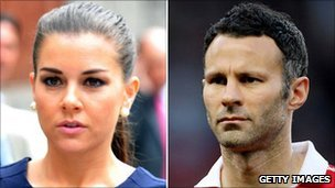 Imogen Thomas and Ryan Giggs