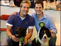 Ben Fogle and Matt Baker