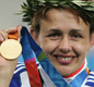 Tanni won two gold medals at the Olympics in Athens in 2004.