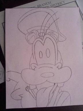 Bbc Blast Art Design Goofy From Kingdom Hearts 2