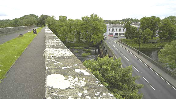 view from the top of the Randalstown viaduct