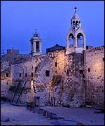 Picture: The Nativity church in Bethlehem