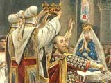 Image of Edward the Confessor being crowned