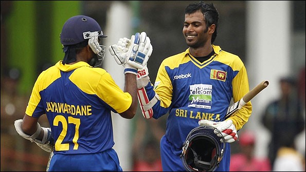 Mahela Jayawardene and Upul Tharanga