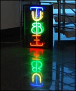 Neon Tube sign