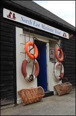 Entrance to North East Maritime Trust