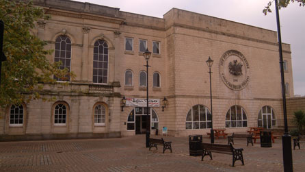 The Dylan Thomas Centre. Image courtesy of Swansea City Council