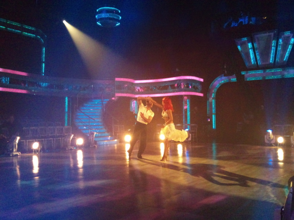 Matt Baker and Aliona Vilani