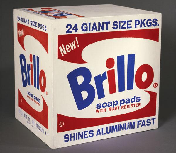 Brillo boxes