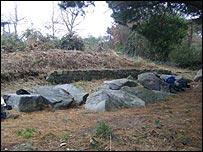 Passage grave at Delancey Park