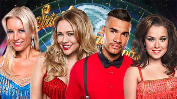 Denise Van Outen, Kimberley Walsh, Louis Smith and Dani Harmer
