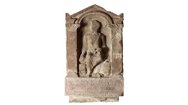 Roman tombstone of a freed slave called Regina © Tyne & Wear Archives & Museum