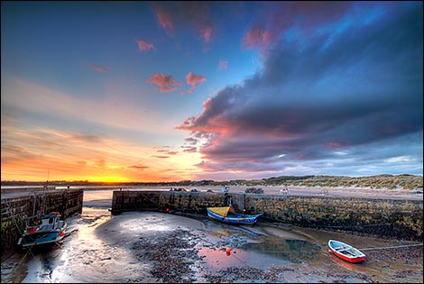 Coast at Beadnell. Photo: Alan Hewitt