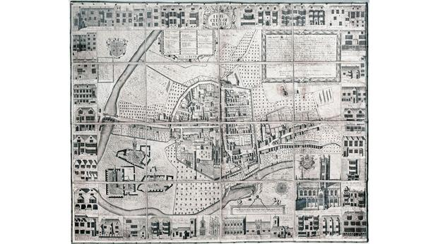 The Joseph Gilmore Map of Bath, BoBC