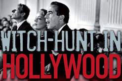 Witch hunt in Hollywood by Michael Freedland