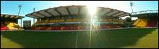 Vicarage Road football ground