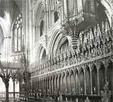 Image of north side of choir at Ely Cathedral