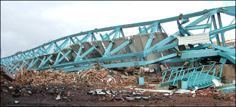 Demolition of Highfield Road