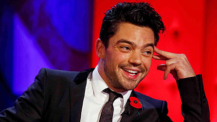 Dominic Cooper on Friday Night With Jonathan Ross (image: Hot Sauce)