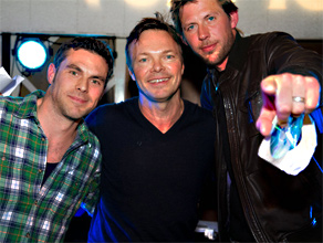 Pete with Groove Armada