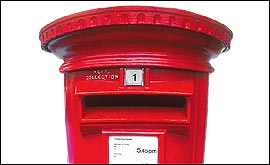 mailbox - send us your messages
