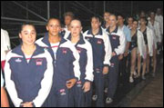 Women's GB Gymnastics Team
