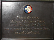 Plaque to Saint Margaret Clitherow