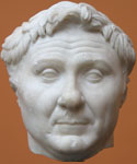 Marble bust of Pompey the Great