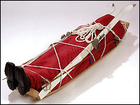 The Sled coffin