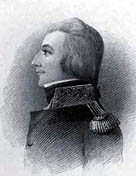 Portrait style painting of Theobald Wolfe Tone