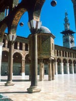 The Great Mosque in Damascus, Syria